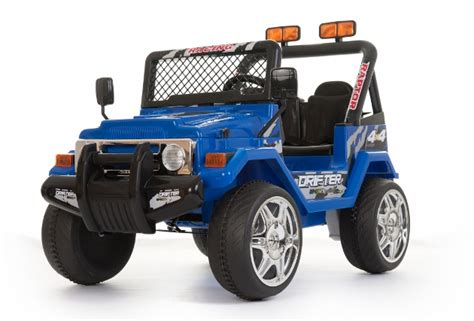 Electric Jeep For 12v Blue Two Seater Road Electric Jeep 163 169 99