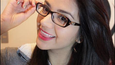 imagenes coreanas con lentes maquillaje para chicas que usan lentes youtube