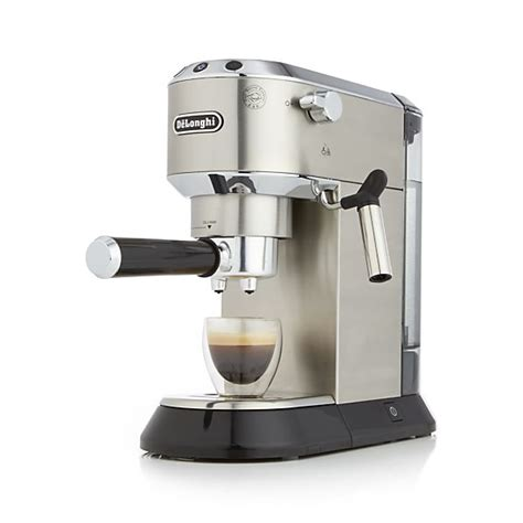DeLonghi ® Dedica Slimline Espresso Maker   Crate and Barrel