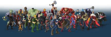 Disney Infinity Marvel Characters Disney Infinity Goes Offline In March 2017