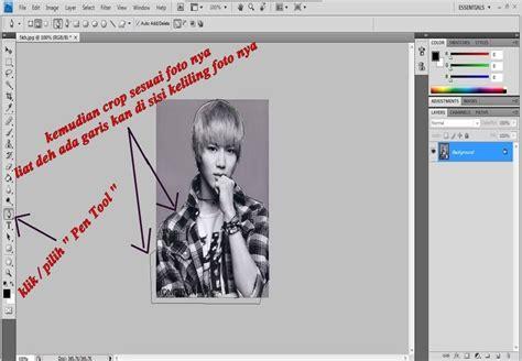 tutorial edit foto gpp tutorial cara meng crop background foto menggunakan