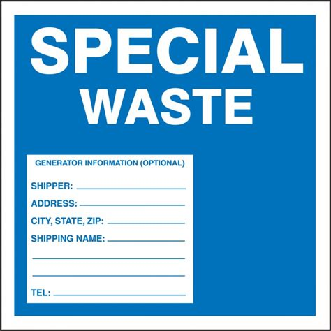 Hazardous Waste Label Template Blogsmatter Free Hazardous Waste Label Template