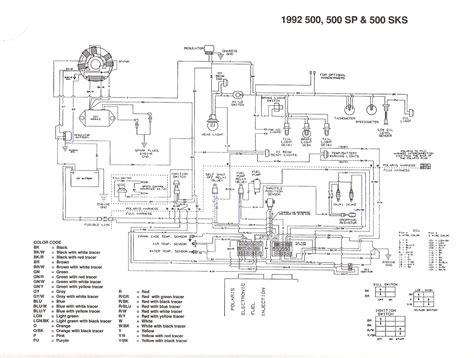 snowmobile wiring diagram snowmobile free engine image