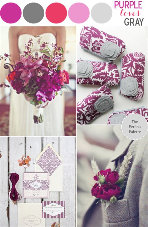 purple and grey color palette for the guest room click color story purple loves gray the perfect palette