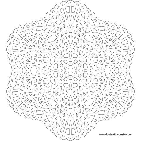 lace pattern color nested braid knot mandala pattern mandala free printable