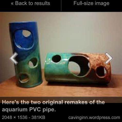 pvc pipe aquarium decorations pvc diy pinterest