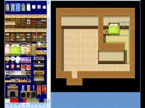 house map maker rpg maker vx house interior mapping tutorial 1