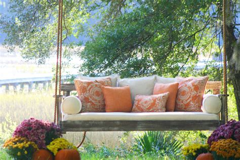 comfortable porch swing cool wooden porch swings in porch farmhouse with wooden