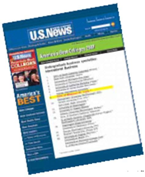 Umsl Mba Rankings by News Archive 2006