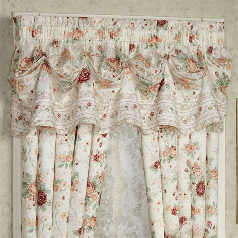 english floral curtains english rose floral ruffled daybed bedding set