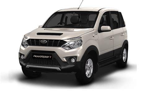 mahindra suv car price mahindra nuvosport india price review images mahindra
