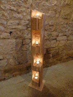kerzenhalter in laterne befestigen windlicht laterne aus holzbalken alt eichenbalken stele