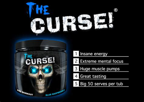 The Curse 50 Serving Pre Workout Cobra Labs Pre Work Out Preworkout cobra labs curse pre workout powder 250g proteinsstore