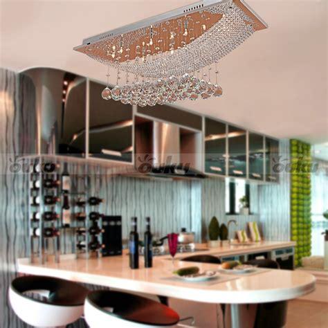 Flush Mount Dining Room Light Modern Pendant Ceiling Light Lighting Dining Living Room L Chandelier Ebay
