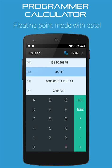calculator octal programmers calculator binary android apps on google play