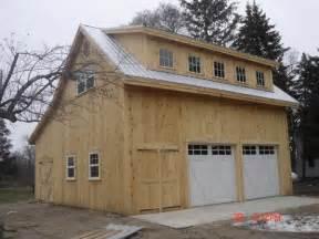 Broken back salt box post beam barn kit barn building kits timber