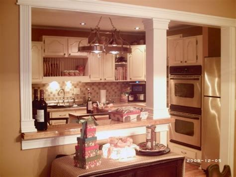 kitchen pass through designs kitchen pass through ideas kitchen now looks so much more spacious after pass through