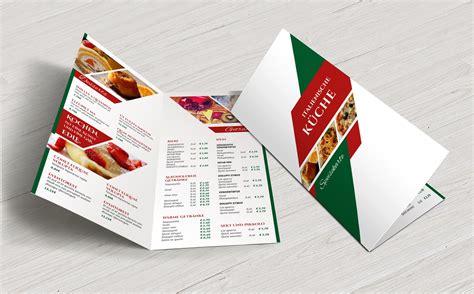 Moderne Flyer Vorlagen Speisekarten Vorlagen F 252 R Designer Und Gastronomen Psd Tutorials De Shop