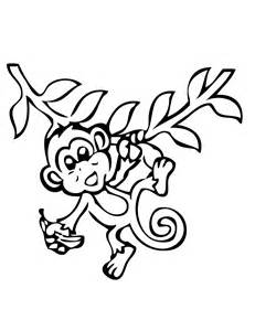 free coloring pages of monkey sheets
