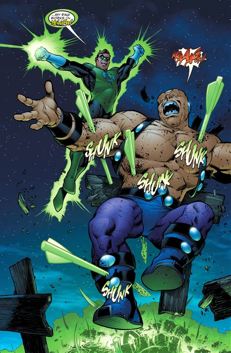 Mercy Black mongul traps green arrow and green lantern the black