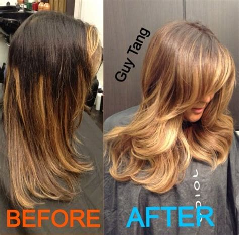 ombrea hair for latinas fixed a bad ombr 233 and cut done by someone else yelp