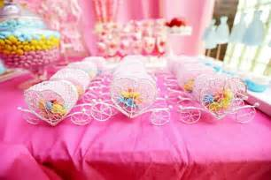Princess party table decorations