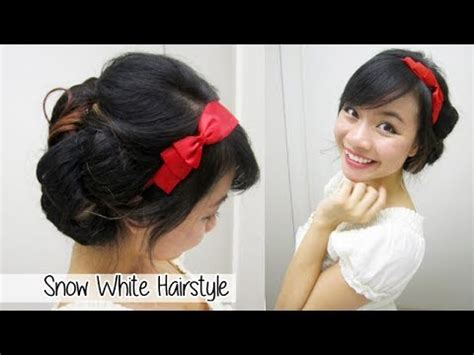 Snow White Hairstyle by Snow White Updo