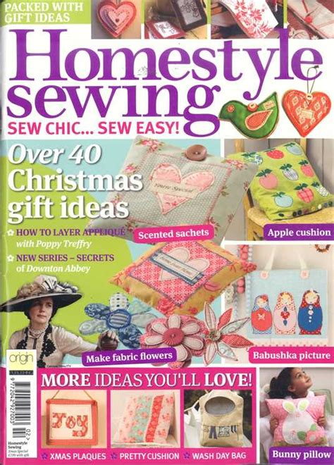 homestyle sewing magazine subscription buy  newsstandcouk knitting  crochet
