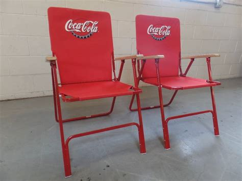 coca cola chairs coca cola folding chairs tch 334 home goods
