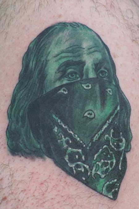benjamin franklin tattoo ben franklin gangster tattoos gt new york gt page 42 gt ben