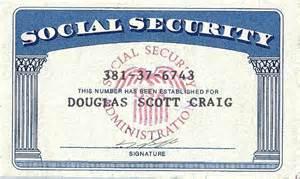 make a social security card make a novelty social security card or driver licenses