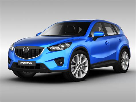 mazda vehicle models mazda cx5 2013 3d models cgtrader com