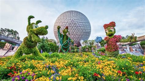 2017 Epcot International Flower Garden Fest Wdw Fan Zone Flower Garden Festival