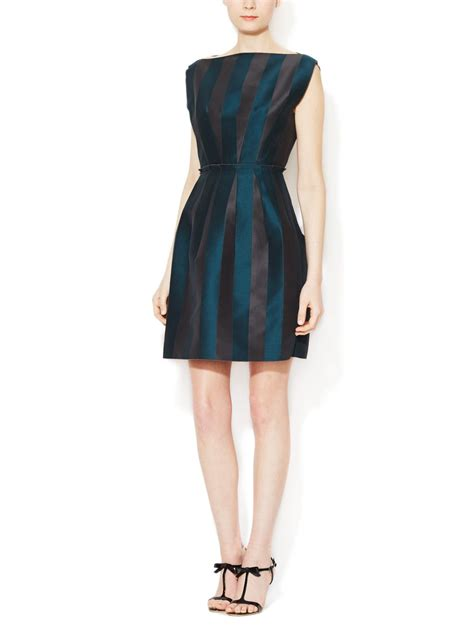 boat neck dress frock cotton paneled boatneck dress by lanvin at gilt frock it