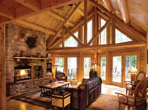 Log Cabin Interior Design Living Room Small Cabin Interior Log Homes Interior Designs