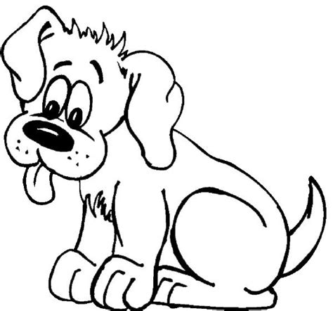 coloring pages of cute pets cute dog coloring page coloring pages pinterest