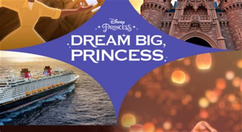 Dream Big Sweepstakes - disney dream big princess sweepstakes sun sweeps