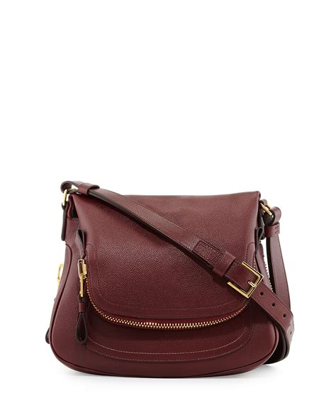 Tom Ford Bag by Tom Ford Medium Leather Shoulder Bag In Lyst