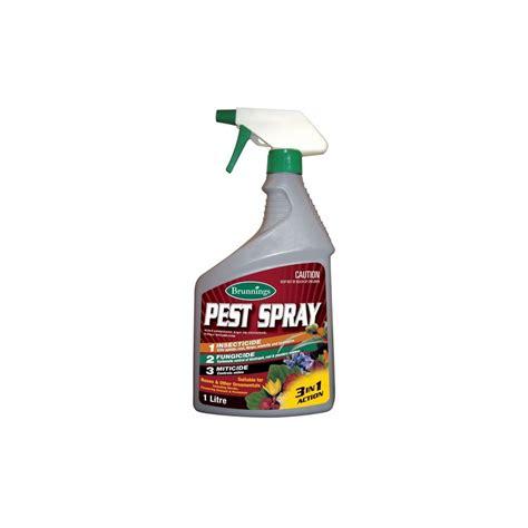 garden pest spray pest spray 3 in 1 rtu 1 litre brunnings