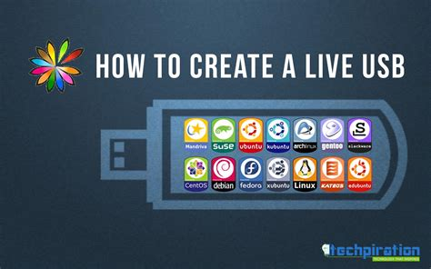 usb linux how to create a liveusb stick cd