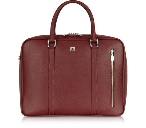 City Chic Gift Card Australia - pineider city chic large burgundy double handles leather tote at forzieri