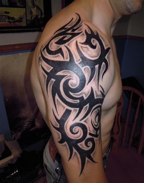 guy tribal tattoos cool tribal tattoos for guys cool eyecatching tatoos