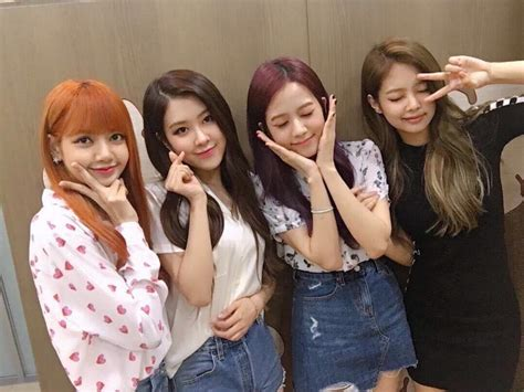 blackpink unnie line blackpink on kbs kiss the radio blink 블링크 amino