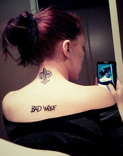 doctor who couple tattoos 25 best ideas about bad wolf on wolf