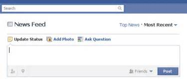 facebook homework status