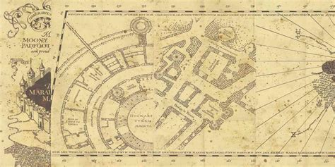 Marauders Map my harry potter guide the marauder s map itcher