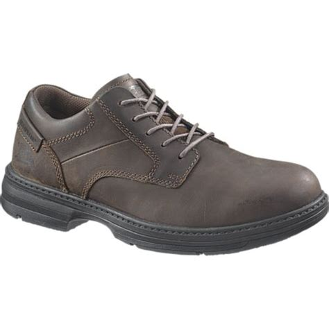 Caterpillar Shell Oxford Brown Safety Boot caterpillar oversee st mens brown free shipping