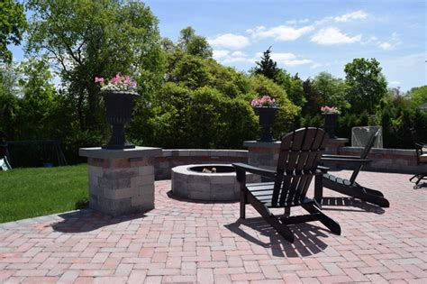 new england backyards new england backyard fire pit lincoln ri traditional patio providence by