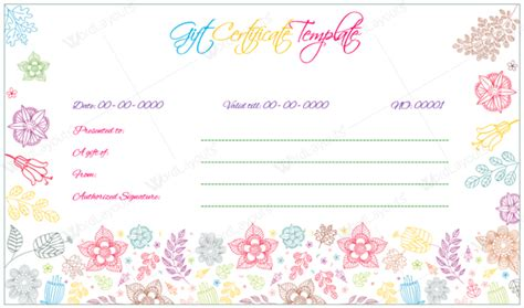 professional gift certificate template 10 gift certificate templates to appear professional