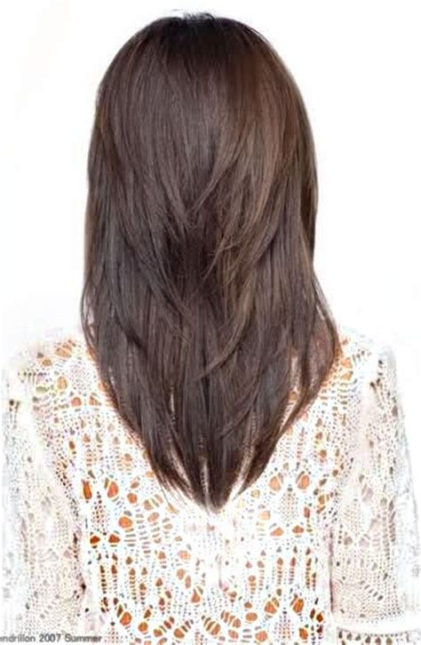 medium length v cut with layers medium v cut hair styles pinterest style back to